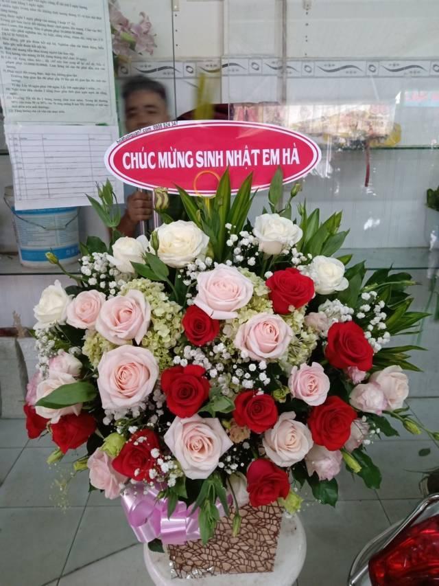 gio hoa sinh nhật